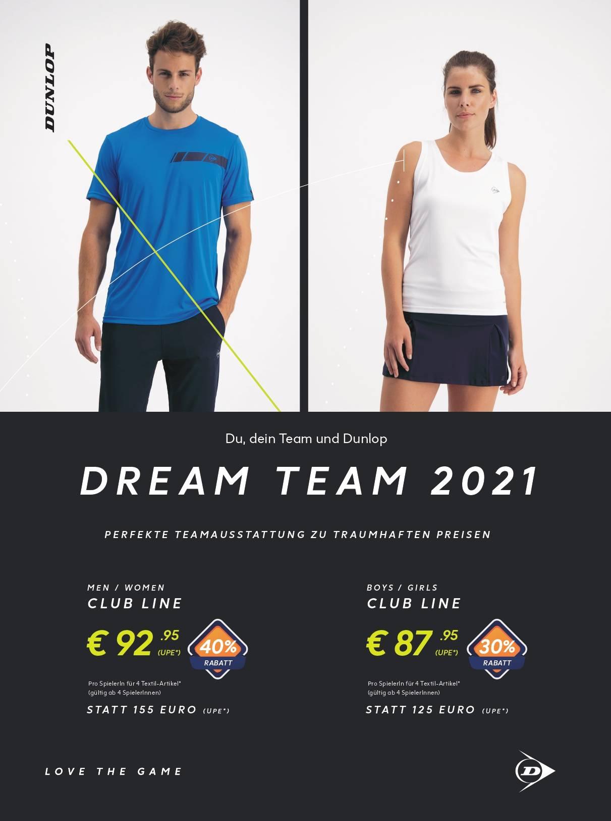 DUNLOP DREAM TEAM 2021