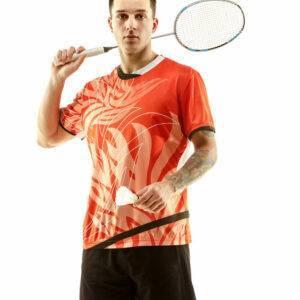 Herren Badmintonbekleidung