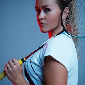 Damen Badmintonbekleidung