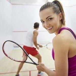 Damen Squashschläger