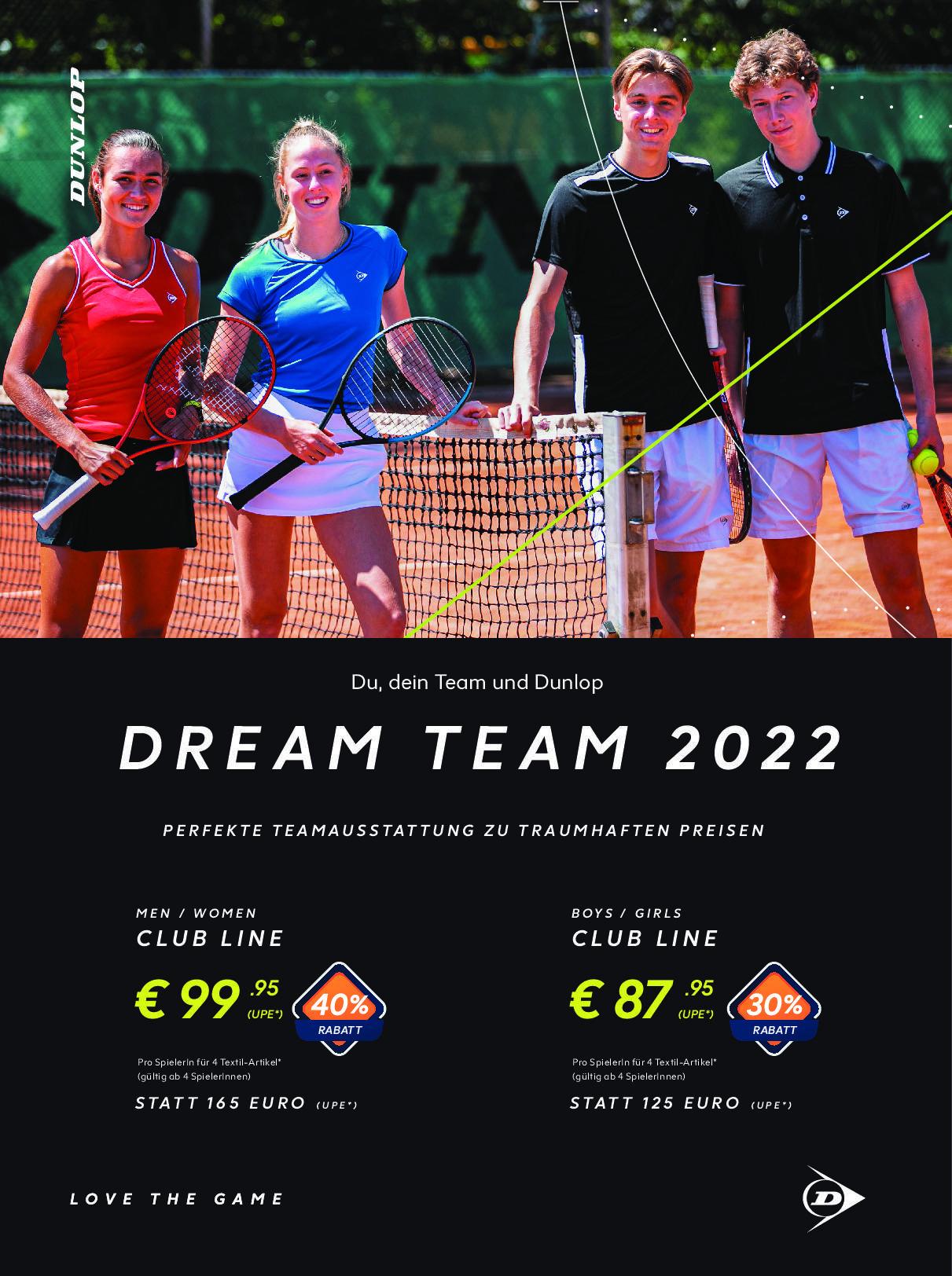 DUNLOP DREAM TEAM 2022